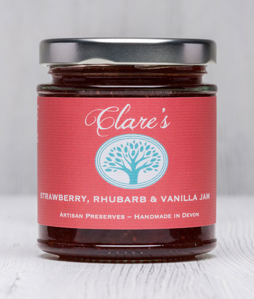 Strawberry, Rhubarb & Vanilla Jam