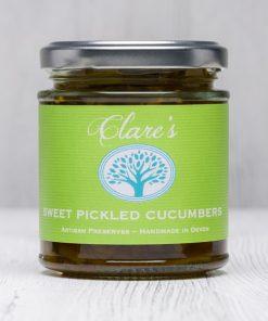 Sweet Pickled Cucumbers