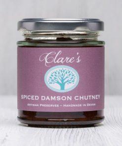 Spiced Damson Chutney
